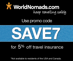 worldnomads promo code - SAVE7